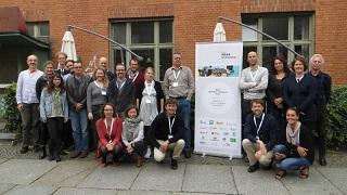 Gruppenbild der Teilnehmenden des Netzwerktreffens 2017